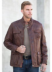 Mason Lambskin Leather Jacket