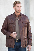 Mason Middle Eastern Lambskin Leather Jacket