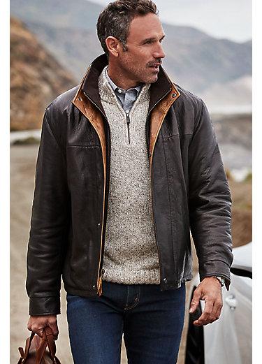 Romano Lambskin Leather Jacket