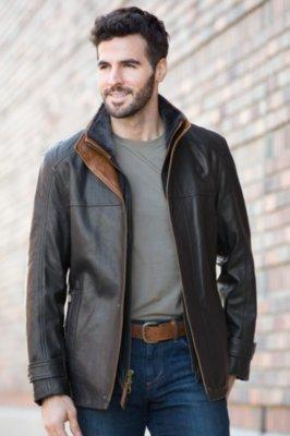 Vernon Italian Lambskin Leather Jacket