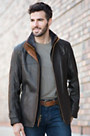 Vernon Italian Lambskin Leather Jacket