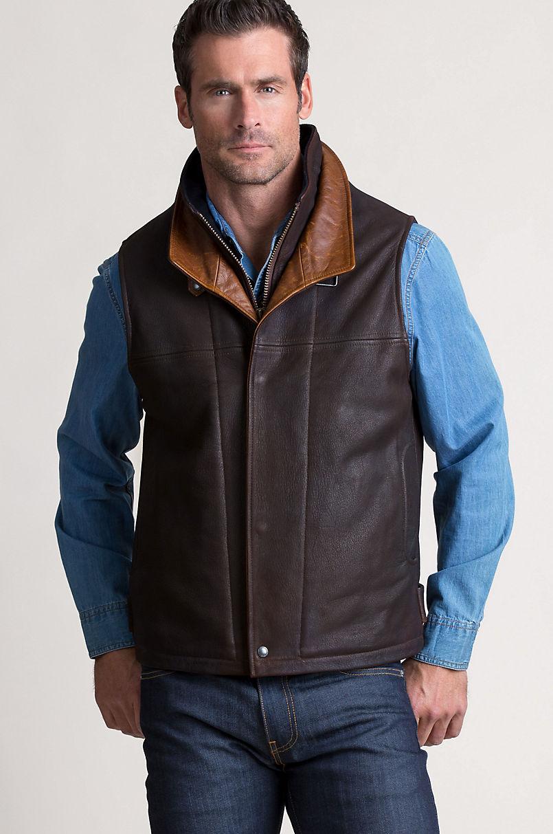 Traveler Leather Vest
