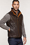 Traveler Leather Vest - Big (48 - 52)