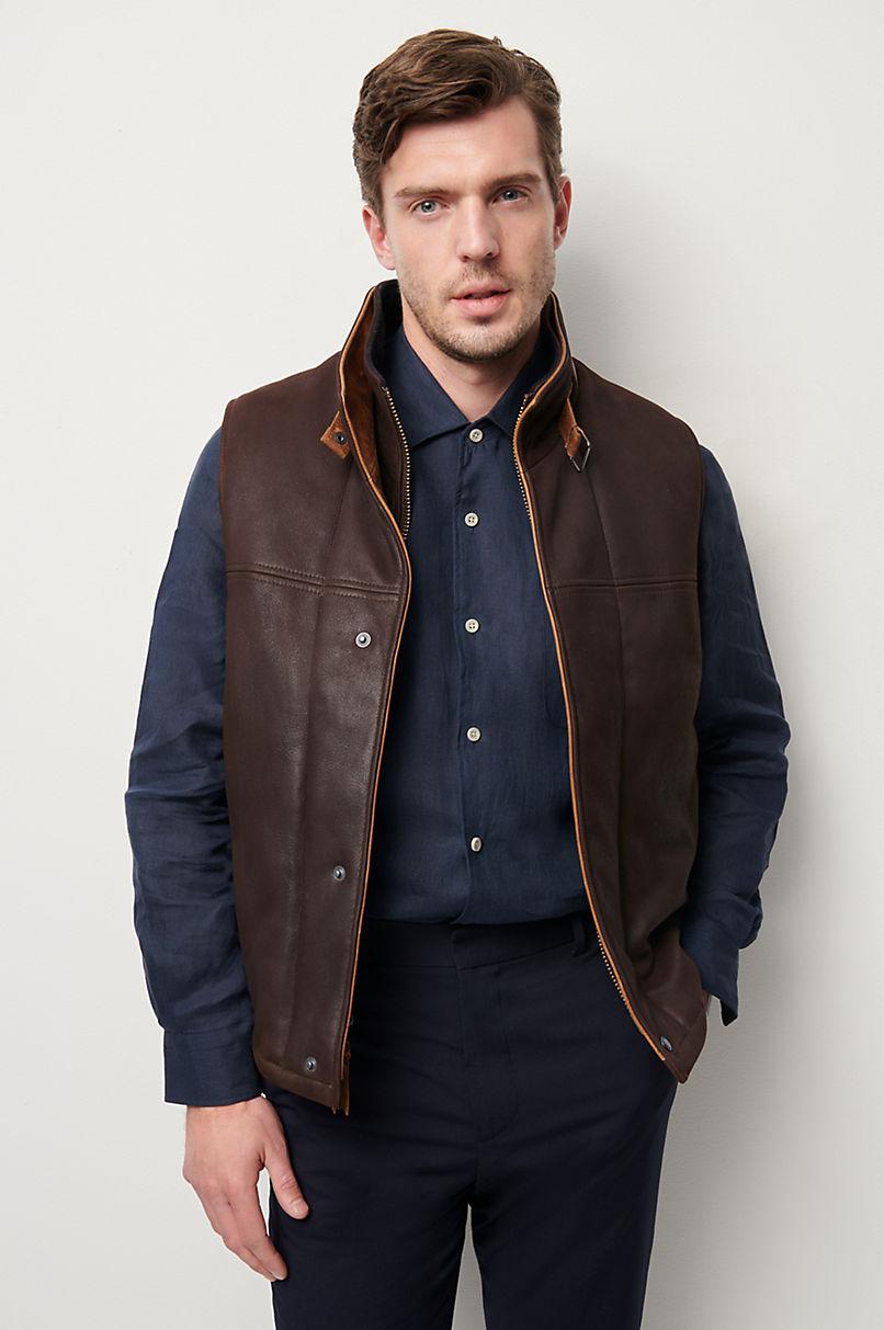 Traveler Leather Vest - Big (48 - 52)