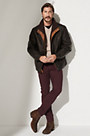Romano Lambskin Leather Jacket - Tall (38L - 46L)