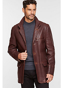 Montreaux Moroccan Lambskin Leather Blazer