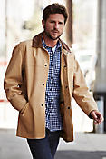 Country Gentleman Calfskin Leather Coat (XBig)