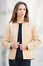 Seville Italian Calfskin Leather Jacket