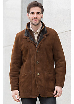 Overland Highlands Spanish Merino Shearling Sheepskin Coat