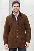 Overland Highlands Cappuccino Shearling Sheepskin Coat