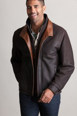 Romano Leather Jacket (Big 54)