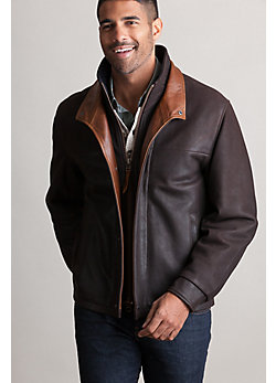 Romano Leather Jacket (Big 54-56)
