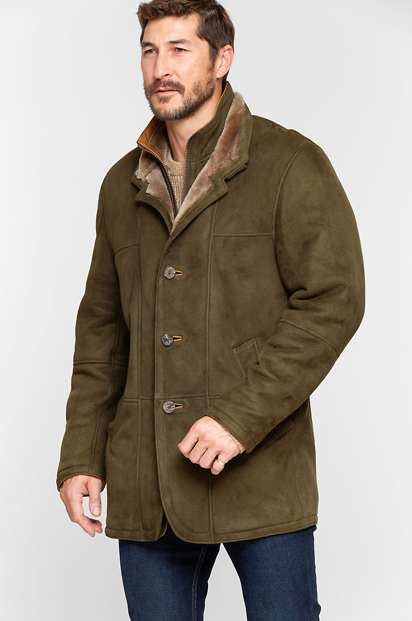 Overland Highlands II Northern Merino Shearling Sheepskin Coat