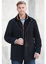 Overland Highlands Florentine Merino Shearling Sheepskin Coat