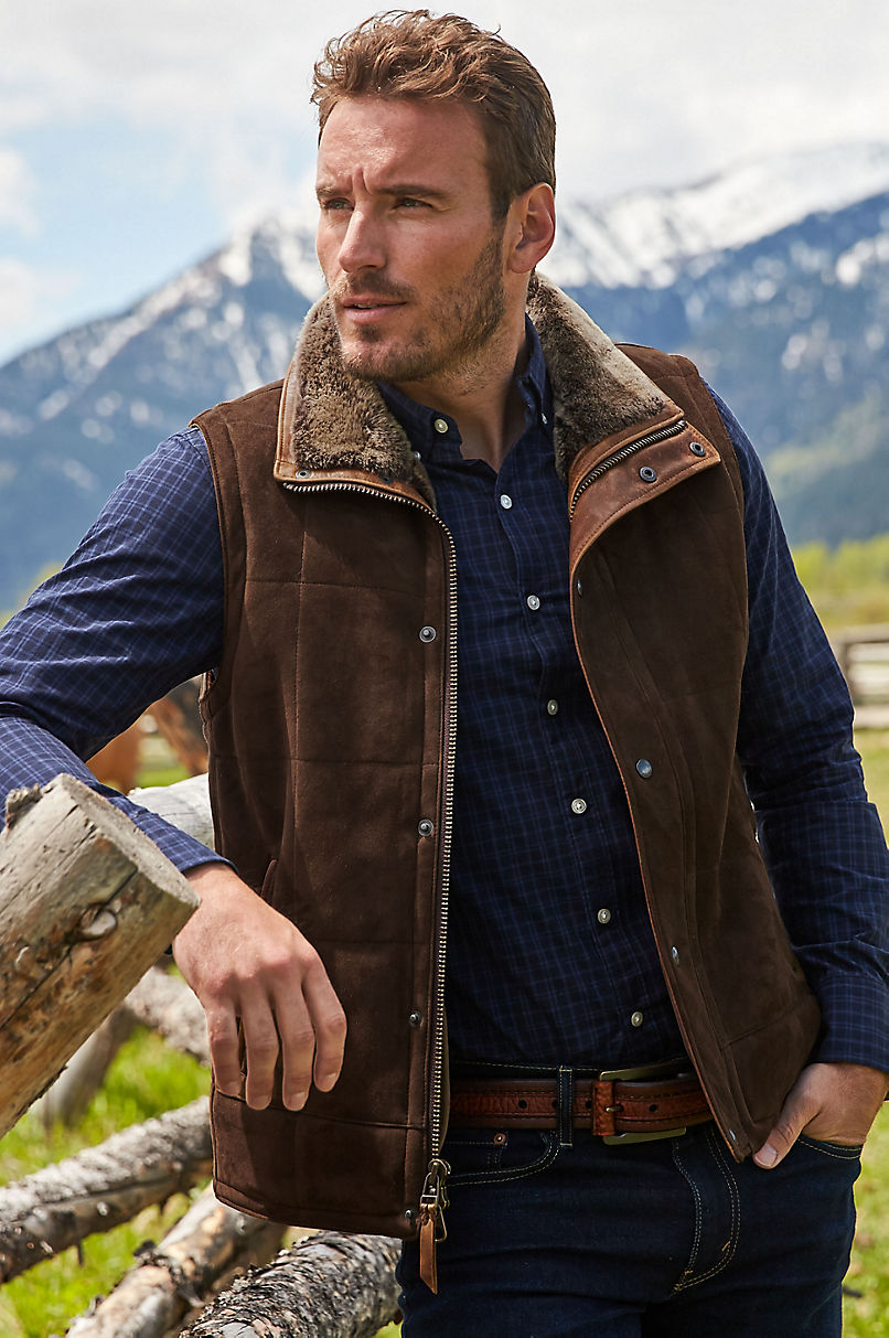 Go Forth Shearling Sheepskin Vest