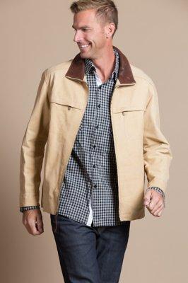 Pattison III Italian Calfskin Leather Jacket