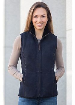 Moon Dance II Shearling Sheepskin Vest