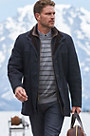 Overland Highlands II Spanish Castile Merino Shearling Sheepskin Coat