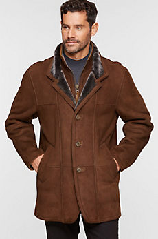 Overland Highlands II Tuscan Merino Shearling Sheepskin Coat