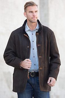 Cleveland Spanish Merino Shearling Sheepskin Coat