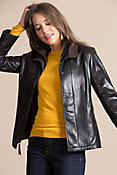 Bella Lambskin Leather Jacket