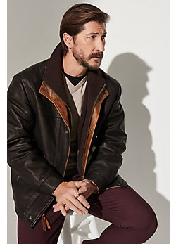 Romano Lambskin Leather Jacket - Big (48 - 52)
