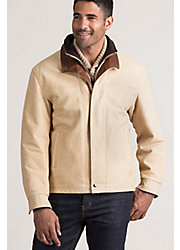 Romano Italian Calfskin Leather Jacket - Big (48 - 52)