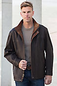 Denver Lambskin Leather Coat