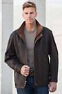 Denver Lambskin Leather Coat