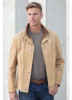 Newsboy II Calfskin Leather Jacket