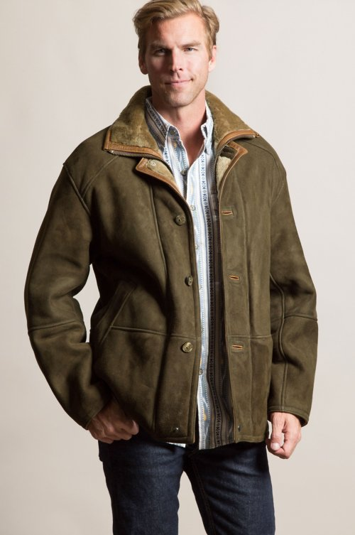 Winston Northern Merino Shearling Sheepskin Coat