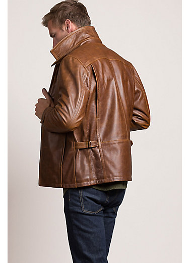 Route 66 Italian Calfskin Leather Jacket