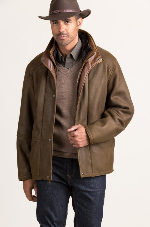Bedford Spanish Merino Shearling Sheepskin Coat