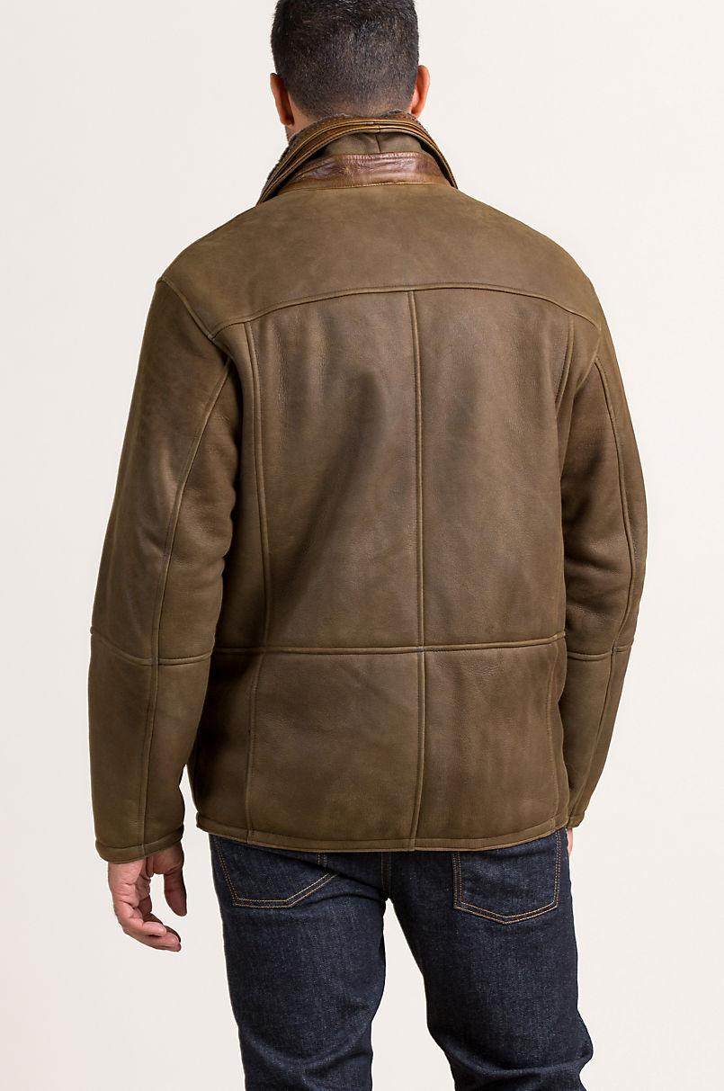 Bedford Spanish Merino Shearling Sheepskin Coat