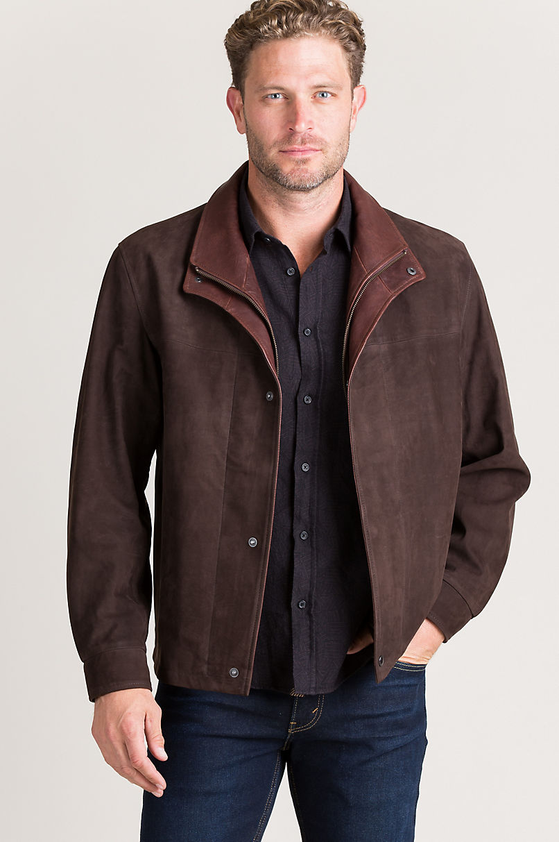 Showman Italian Calfskin Leather Jacket