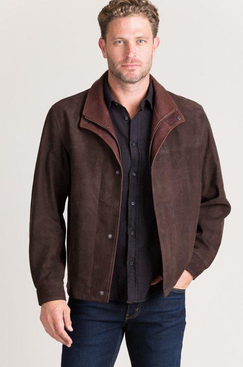 Showman Italian Calfskin Leather Jacket