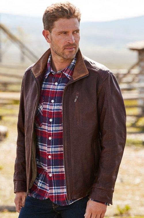 Conor Lambskin Leather Jacket