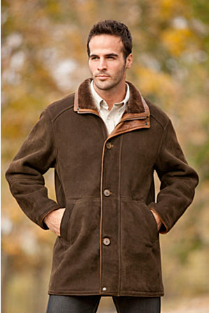 Men's Bostonian Shearling Shearling Coat | Overland