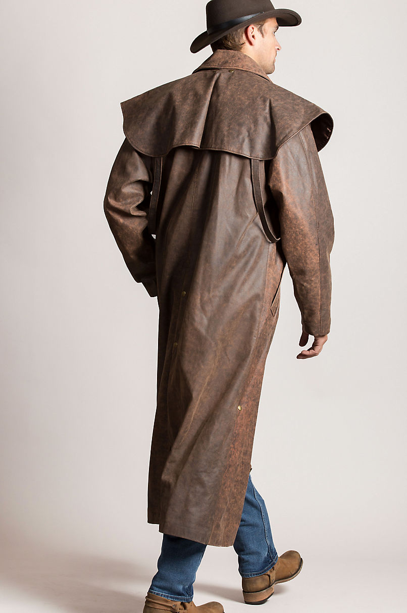 294140a396fc Montgomery Lambskin Leather Duster