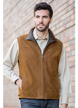 Darden Lambskin Leather Vest