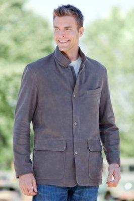 Escondido Lambskin Leather Jacket