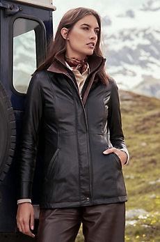 Rory Lambskin Leather Jacket