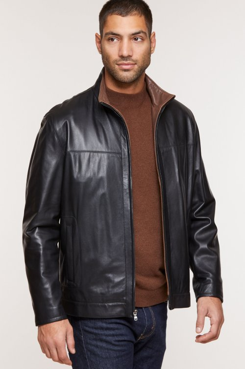 Dawson Lambskin Leather Jacket