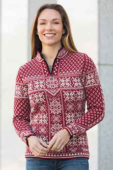 Dale of Norway Wool Peace Sweater