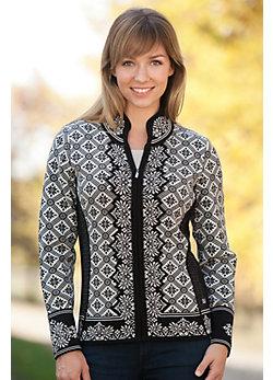 Dale of Norway Christiania Merino Wool Cardigan Sweater