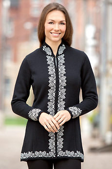 Dale of Norway Maud Merino Wool Sweater Jacket