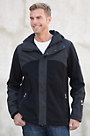 Dale of Norway Stryn Hooded Knitshell Wool-Blend Jacket