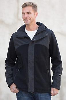 Dale of Norway Stryn Hooded Knitshell Wool-Blend Jacket