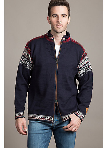 Dale of Norway Bergen Wool Sweater Jacket