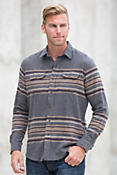 Tailor Vintage Blanket Stripe Cotton Flannel Shirt